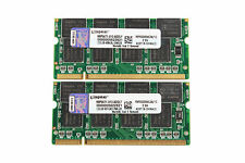 Kingston 2GB 2X 1GB DDR PC2700S 333MHZ 200Pin 2.5V SO-DIMM For RAM Laptop Memory