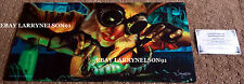 MTG PLAYMAT SCOTT MURPHY HAND SIGNED COA GOBLIN ENGINEER MOUSE PAD PLACEMAT NEW