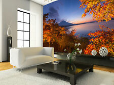 Fuji in Fall Wall Mural Photo Wallpaper GIANT WALL DECOR PAPER POSTER FREE GLUE