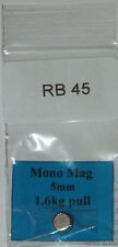 Mono Mag brake magnet size 6x4 1.6kg pull not normally sold separately (RB 45)
