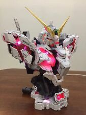 1/35 Unicorn Gundam Head Bust Plastic Model Kit With LED System New