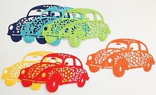 Stunning Cheery Lynn Beetle Car Die-Cuts (Brights - Pack Of 6)