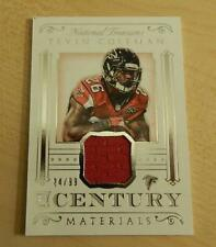 2015 NATIONAL TREASURES TEVIN COLEMAN CENTURY MATERIALS RC #ED /99 FALCONS