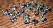Spacer Beads Silver Hugs 2 Kids Hugging Charm Bracelets Cute Lot of 19 Pcs