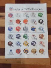 National Football League Poster