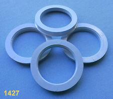 (1427) 4 Stück  Zentrierringe 75,0 / 57,1 mm grau für Alufelgen