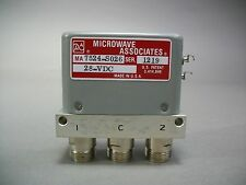 Microwave Associates MA7524-S026 Coaxial Switch 3 Port - New