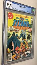 New Teen Titans 2 CGC 9.4 White Pages 1st appearance Deathstroke