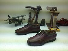 G.H BASS BURGUNDY LEATHER LACE UP DRIVING MOCASIN DECK BOAT HIKE SHOES SIZE 12 M