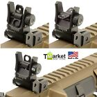 NEW UTG Flip-up Rear Sight Iron Durable Tactical Gun Accessories Picatinny Rails