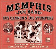 MEMPHIS JUG BAND**WITH GUS CANNON'S JUG STOMPERS**4 CDS