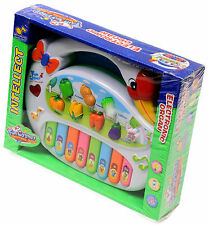 New Fun Cygnet Electronic Organ Educational Musical Instruments study with light