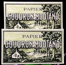 Goudron Modiano - Vintage Cigarette Rolling Papers Lot RARE