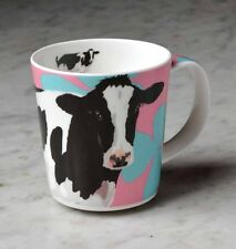 Leslie Gerry Mug Friesian Cow Farm Country Fine Bone China Life Like Design New