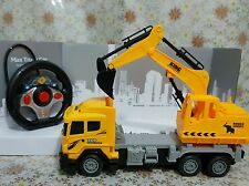RC Remote Control Excavator Construction Engineering Machine Digger Power Truck