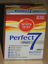 Seven Seas Perfect 7 Man x 30 Multi Vitamin BNIB