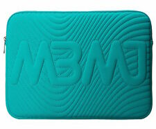 "NEW Marc by Marc Jacobs 13"" Laptop Sleeve Case Quilted MBMJ Turquoise"
