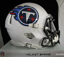 TENNESSEE TITANS Full Size AUTHENTIC SPEED Helmet - With VISOR NFL LICENSED