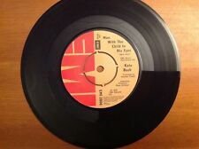 KATE BUSH 1978 vinyl 45rpm single MAN WITH THE CHILD IN HIS EYES