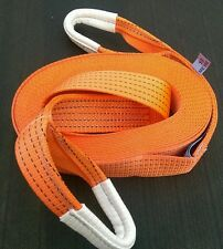10M 4X4 RECOVERY WINCH/TOWING ROPE STRAP STROP 5 TON FARM TOOLS TRACTOR HAULAGE