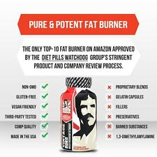 Old School Vintage Burn Thermogenic Fat Burner, 120 Ct
