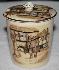 """THE JOLLY DROVER"" CONDIMENTS JAR, LANCASTERS LTD HANLEY ENGLAND"