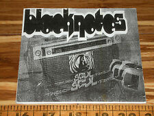 BLACKNOTES CD  - PORTLAND OREGON -  SOUL - STEREO FAMILY SOUNDTRACK MUSIC