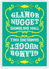 Glamor Nugget Playing Cards (Green)