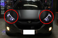 Audi Style Head Lamp Light LED Eye Line DRL For 10~12 2013+ Hyundai Tucson IX35