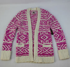 JUICY COUTURE GIRLS WOOL SWEATER / CARDIGAN SIZE XLARGE 12/14