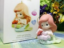 Hallmark Disney Precious Moments Ariel and Sebastian 2009 ornament