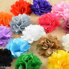 Kids Baby Girls Toddlers Infant Lace Flower Headband Hair Band Accessories 10Pc