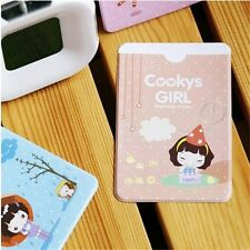 Etui kawaii pour carte de crédit COOKYS GIRL étui carte transport