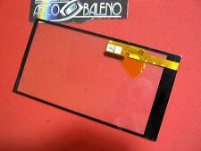 RICAMBIO VETRO + TOUCH SCREEN per HTC ONE M8 Lcd Display Nuovo Vetrino NERO