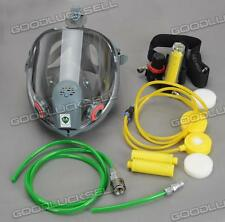 Gas Mask Form a complete set of Circulating air supply(For 3M6800) Free shipping