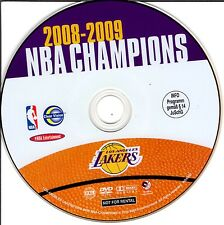 NBA - NBA Champions 2008-2009: Los Angeles Lakers (2010) ohne Cover #m38
