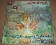 Mesple/van Dam/Gedda/Diederich HAHN Ciboulette - EMI 2C 167-73105/6 SEALED