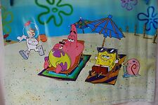 BNIB Spongebob Aquarium Background 60 x 40 cm gary patrick sandy kids fish tank
