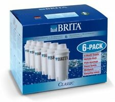 BRITA CLASSIC WATER FILTER CARTRIDGES REDUCE LIMESTONE LEVELS - 6 PACK