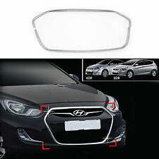 Chrome Bumper Radiator Grille Wing Molding Trim Cover for 12+ Accent 4/5DR