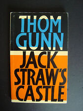 "Thom Gunn  "" Jack Straw's Castle ""   Faber & Faber   1976    Softcover"