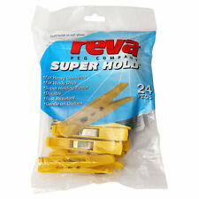 Reva Superhold CLOTHES PEGS 24pk for heavy garments or windy days
