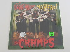 THE CRAMPS Look Mom No Head LP GREEN VINYL silver jubilee edition SEALED