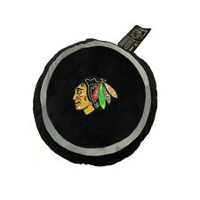 "New NHL Chicago Blackhawks Throw Plush Pillow Embroidered Team Logo 15"" X 15"""