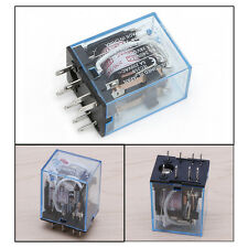 1Pc 8Pin MY2NJ Led Lamp 5A 220-240V AC Coil DPDT Power Relay
