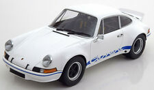 Minichamps 1972 Porsche 911 Carrera RSR 2.7L White in 1/18 Scale. New Release!