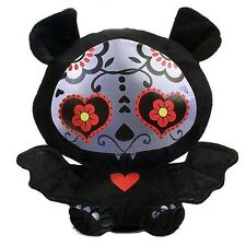 Skelanimals DIEGO THE BAT Day of the Dead  6 inch plush sugar skull toy