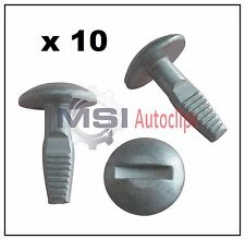 10 x CITROEN ENGINE UNDERTRAY COVER FIXING CLIPS PROTECTION SCREW OEM 7030.16