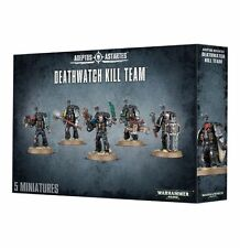 NEW-DEATHWATCH KILL TEAM 5-Man Space Marines Squad Games Workshop Warhammer 40K