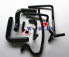 For HOLDEN V8 VN VP VR VS 5.0L SS 304 Silicone Radiator Heater Hose kit BLACK